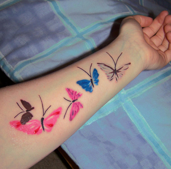 Butterfly Tattoo by booky1