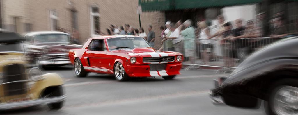 Fisrt Gen. Mustang GT350 by prospiderman