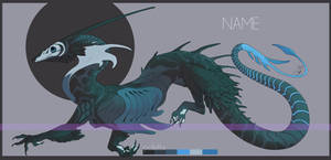 Scaly crow? [ADOPTABLE CLOSED]