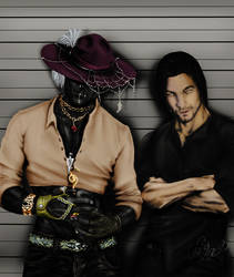 wanted dead or alive remake by CrazyScarlet