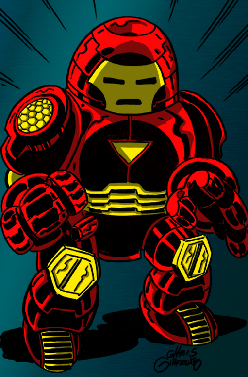 Mini marvels iron man by kid av on deviantart - Mini iron man ...