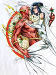 The Wedding of Wally West and Linda Park