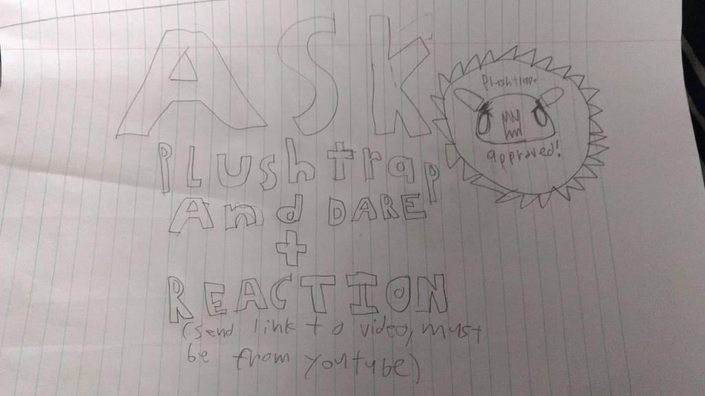 Plushtrap ask + dare plus REACTION! by PhantomPlanter