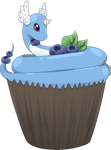 [Collab] Blueberry Cupcake Dragonair