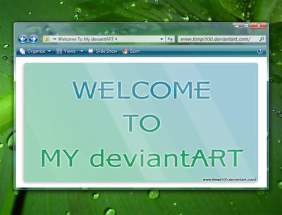 Welcome To My devianART
