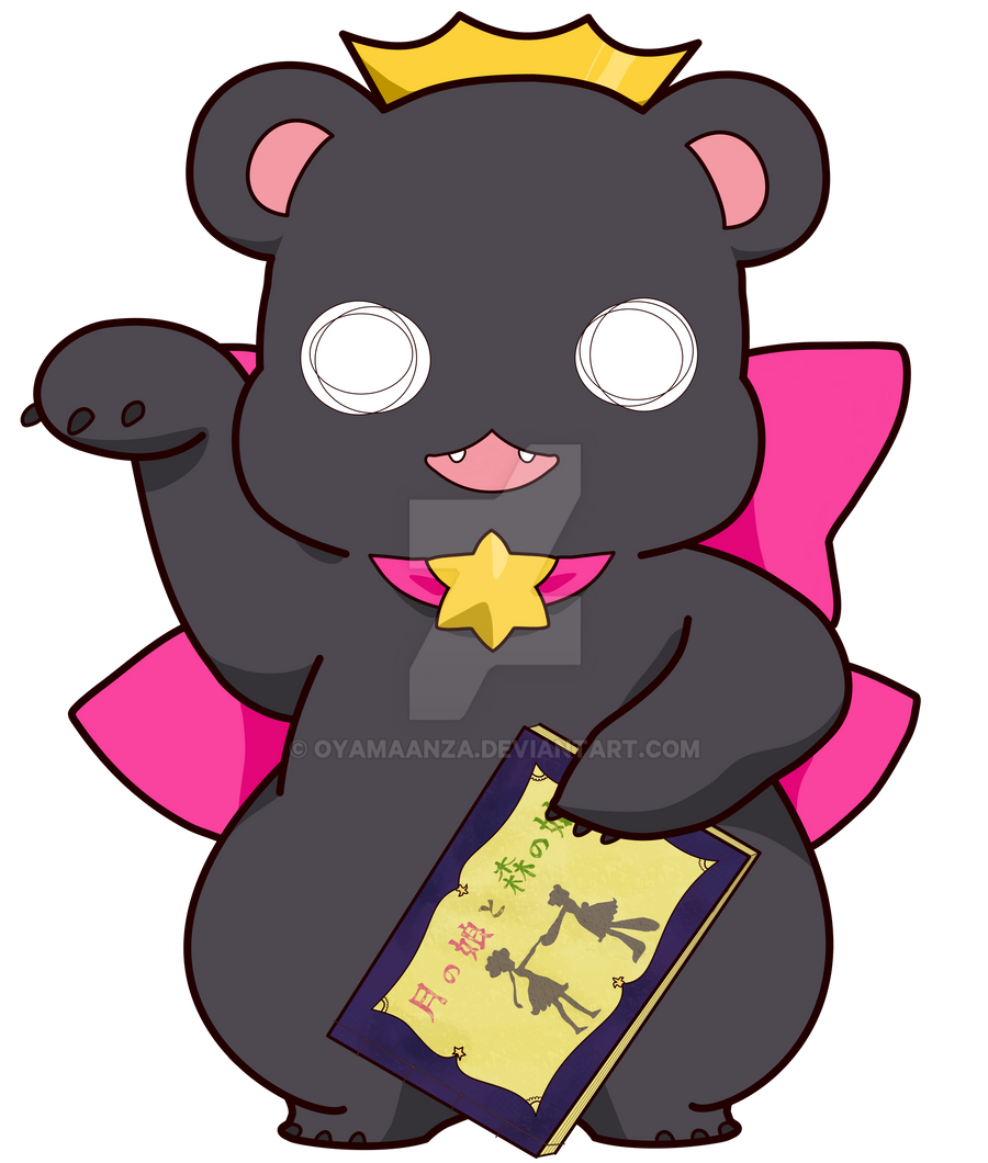 Lucky Bear Ginko by oyamaanza