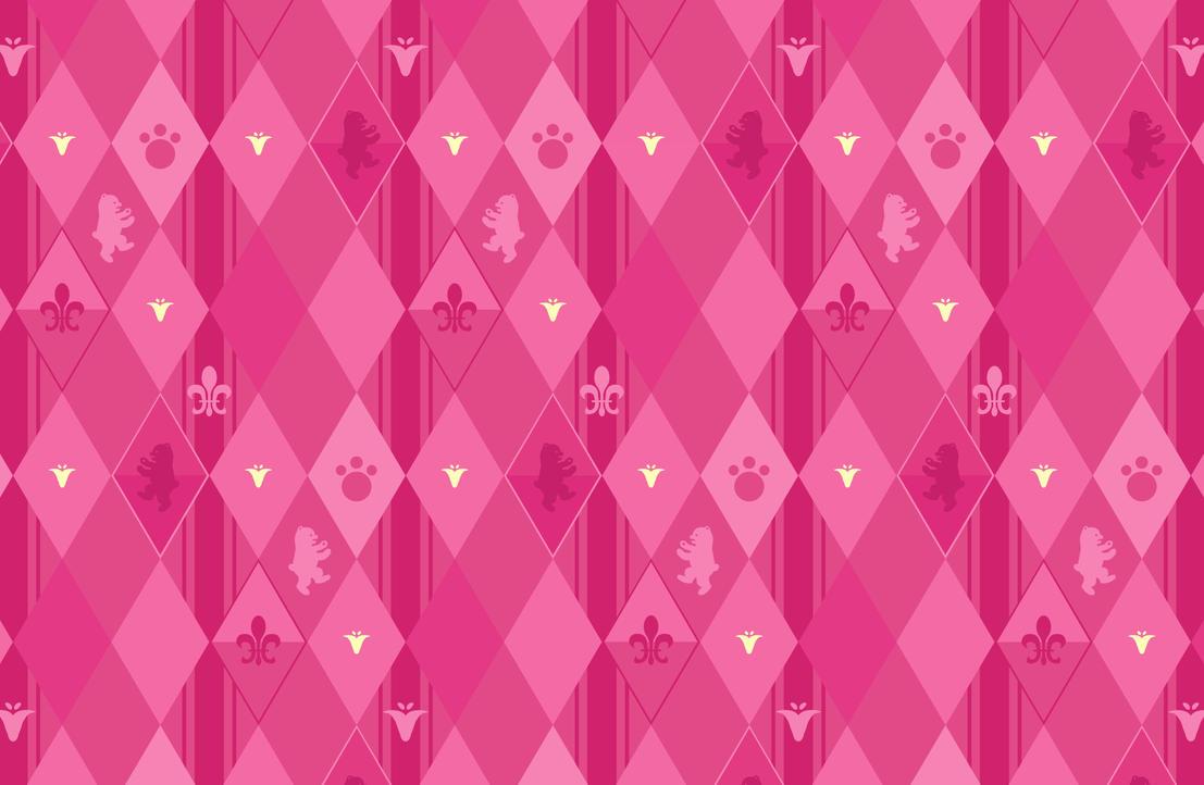 Ginko Pink Diamonds Wallpaper by oyamaanza