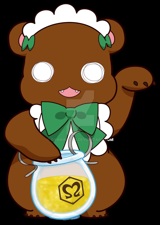 Yuri Kuma Lucky Bear Lulu by oyamaanza