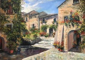 Italian patio by Averart