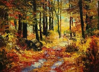 Golden fall by Averart