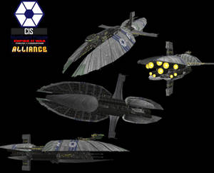 Banking Clan Munificent Frigate