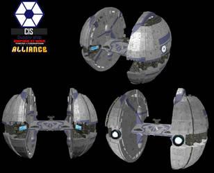 CIS Supply ship by NomadaFirefox