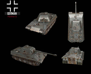 WWII Panther G by NomadaFirefox