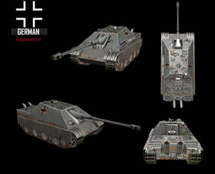 WWII Jagdpanther by NomadaFirefox