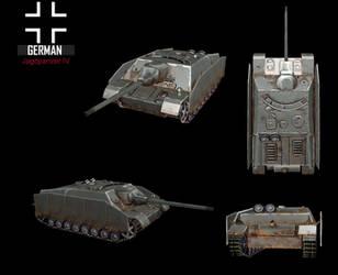 WWII Jagdpanzer IV by NomadaFirefox