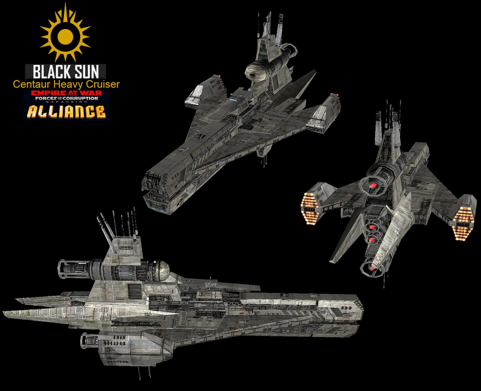 Star Wars Empire at War – FOC Alliance – Centaur Heavy Cruiser final version