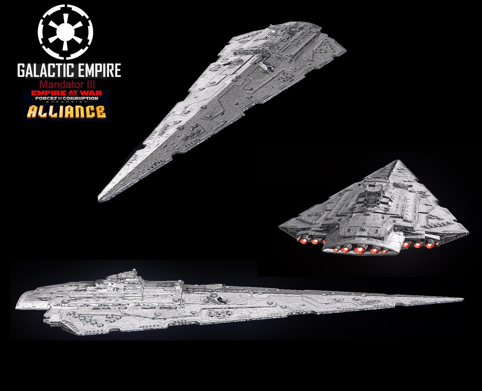 Star Wars – Empire at War – FOC Alliance – Mandator III
