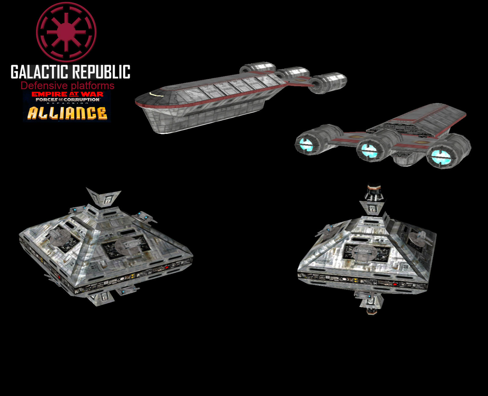 Star Wars Empire at War – FOC Alliance – Republic builded