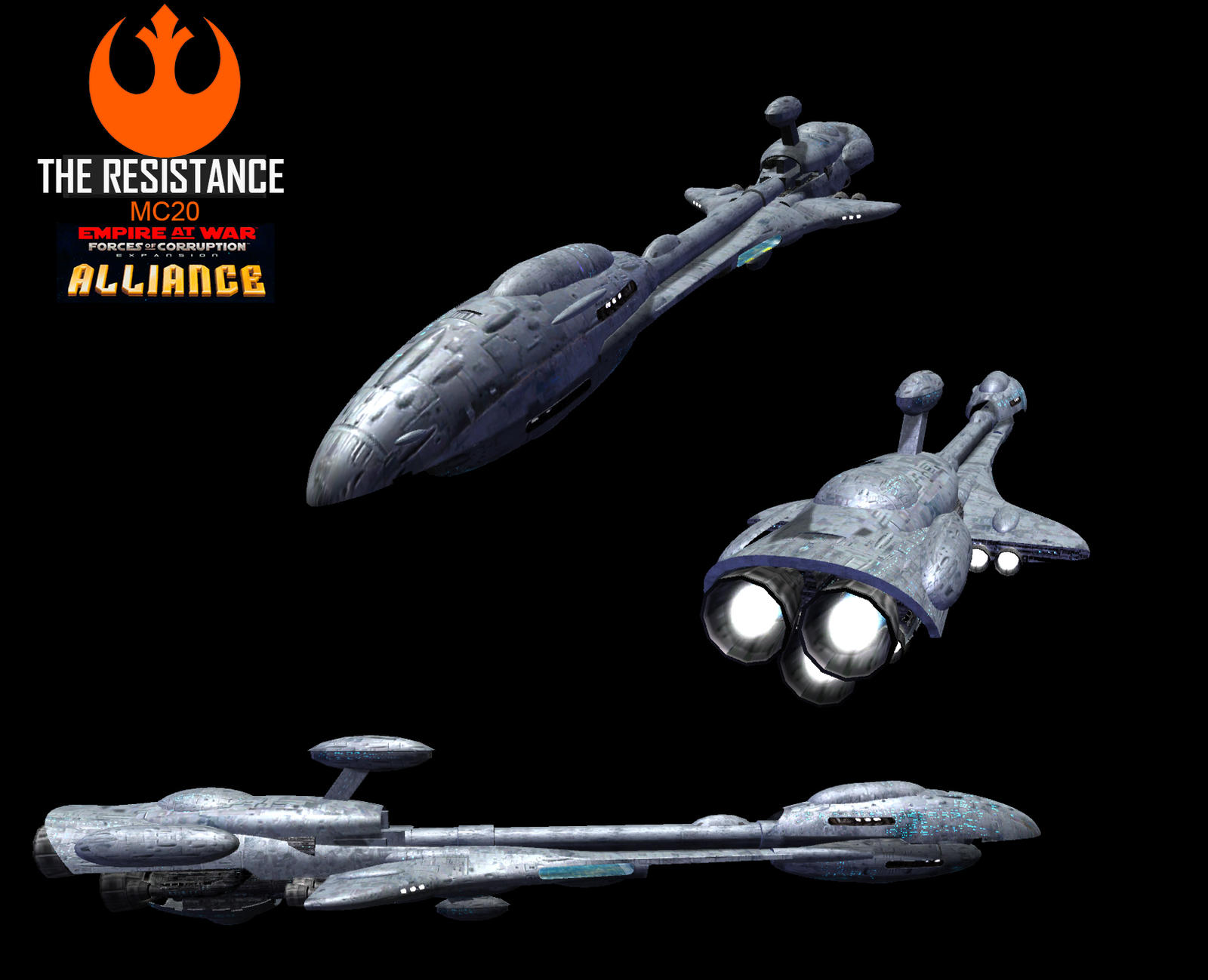 Star Wars Empire at War – FOC Alliance – Week progress