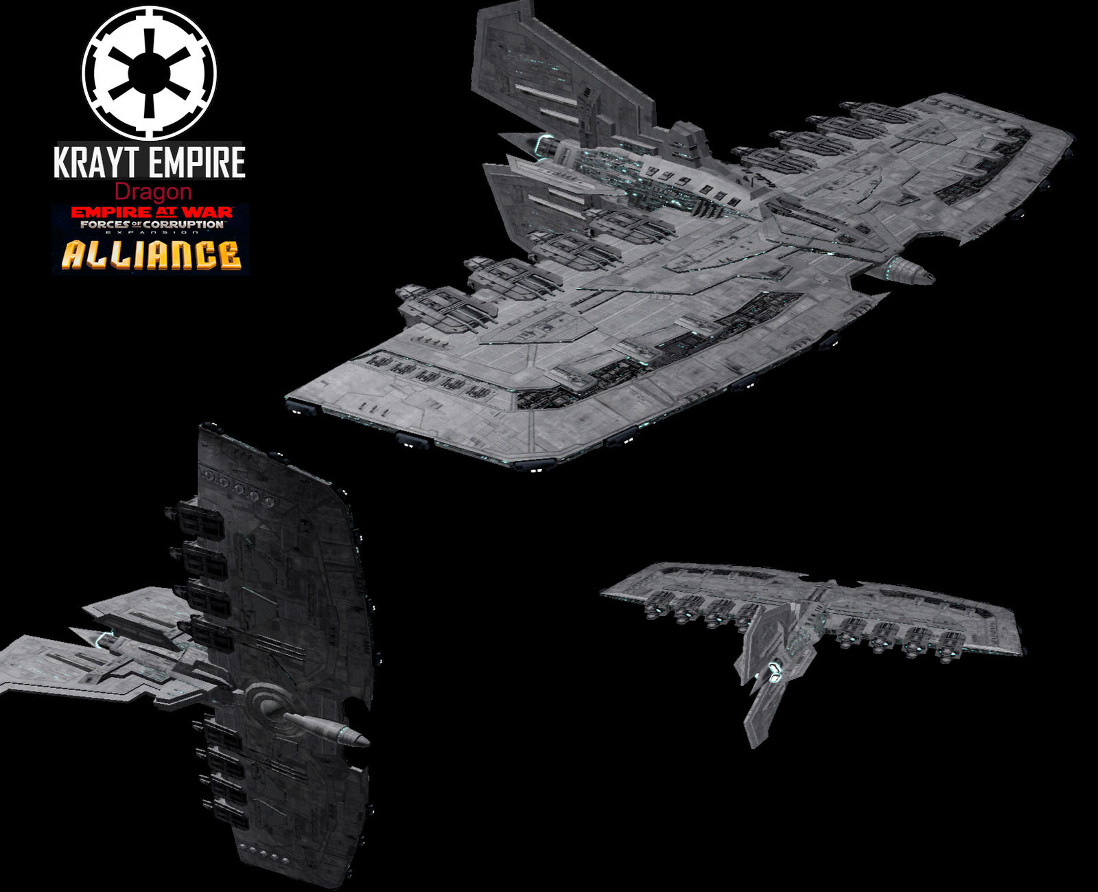 Star Wars Empire at War – FOC Alliance – Very big ships are not very useful