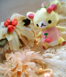 Adorable Cherry ~ Korilakkuma by Vissyscrafts