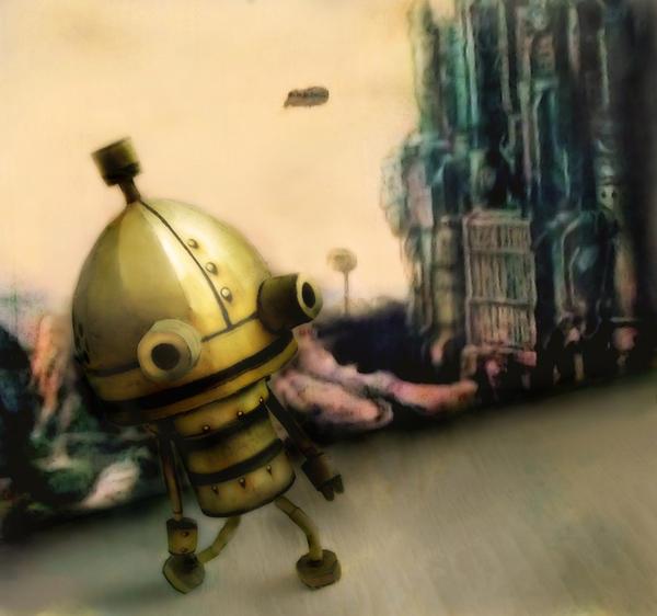 A Little Robot ~ Machinarium by Vissyscrafts