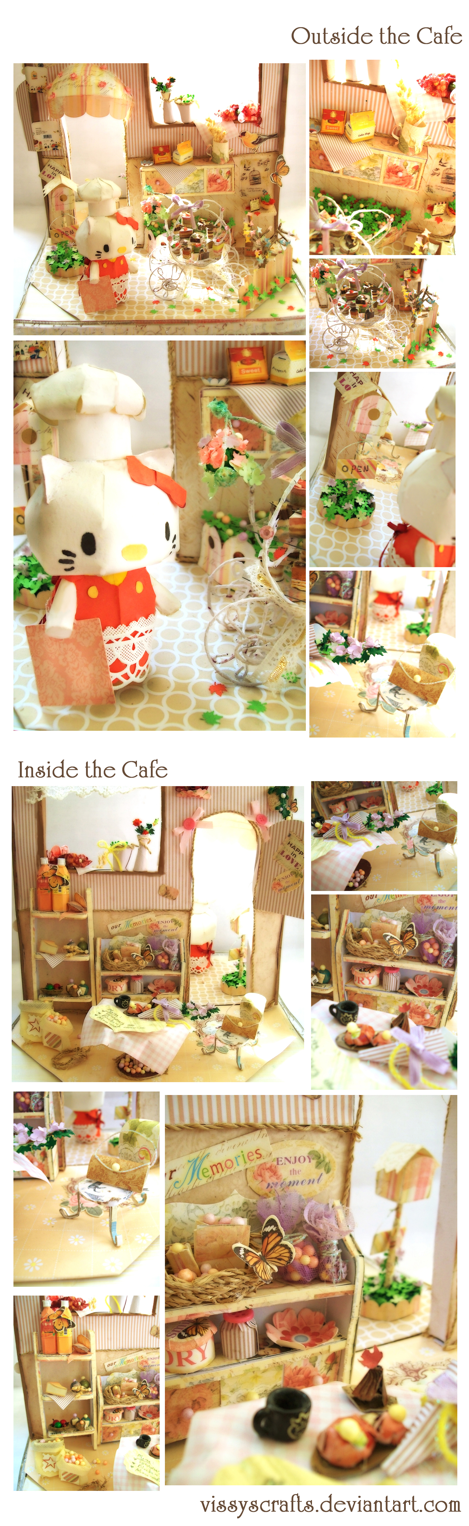 Adorable Cafe (Complete) by Vissyscrafts