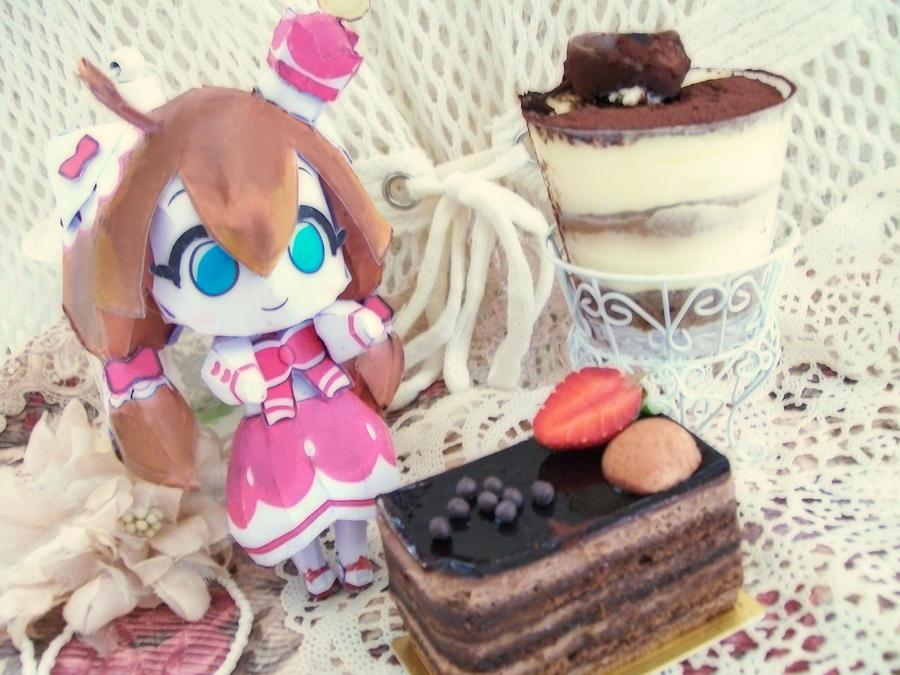 Choco Girl by Vissyscrafts