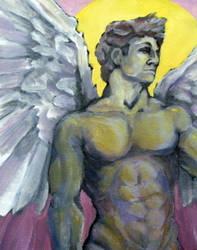 Archangel David by peaceartist