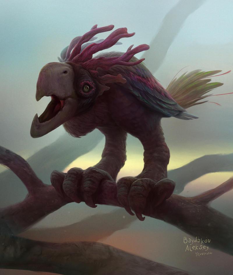 Bird by baydaku