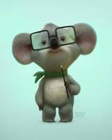koala by baydaku