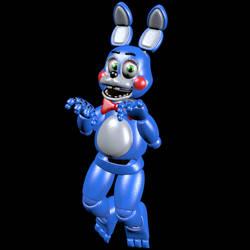 FNAFHW Toy Bonnie [Blender]