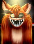Creepy Foxy (with speedpaint)