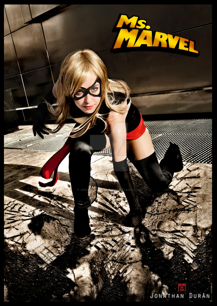 Ms marvel is here...