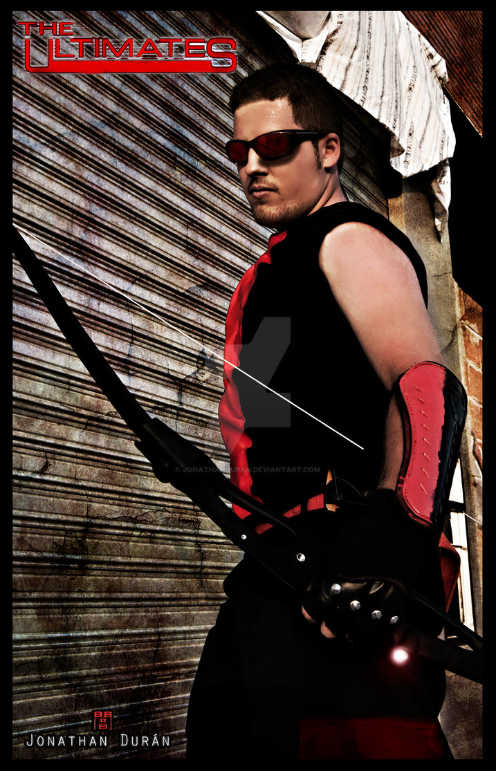 The Ultimates Hawkeye by JonathanDuran