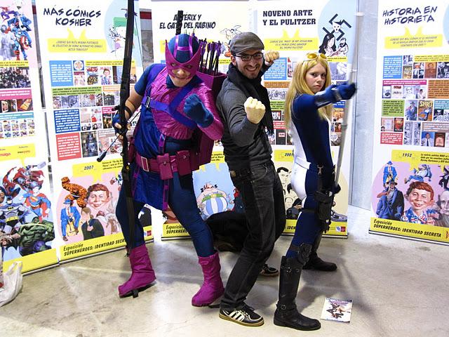 Hawkeye and Mockingbird with David Lopez by JonathanDuran