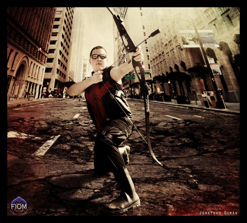 Agent Barton AKA-Hawkeye by JonathanDuran