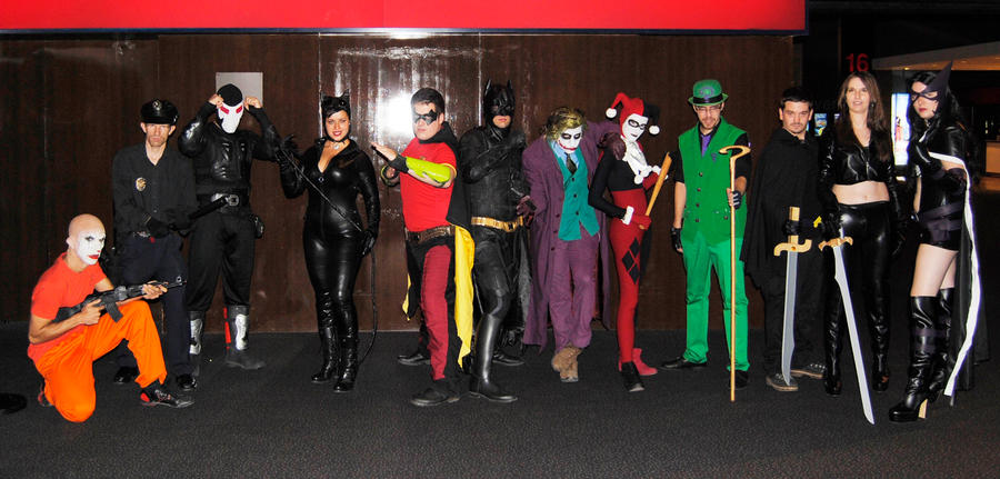 Batman The Dark knight Rises premiere! by JonathanDuran