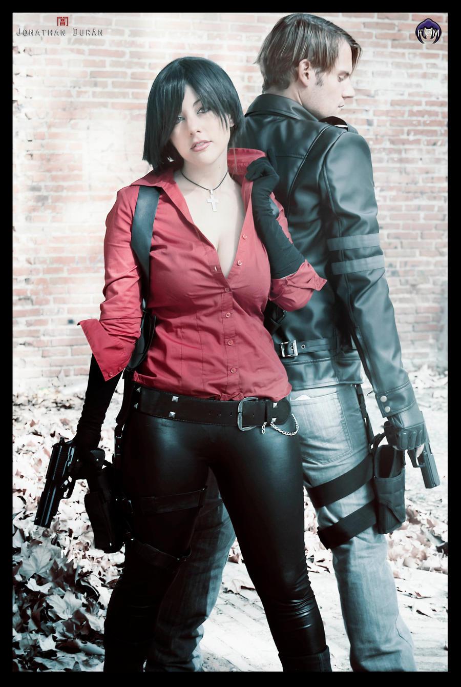 Leon and Ada resident evil 6 by JonathanDuran