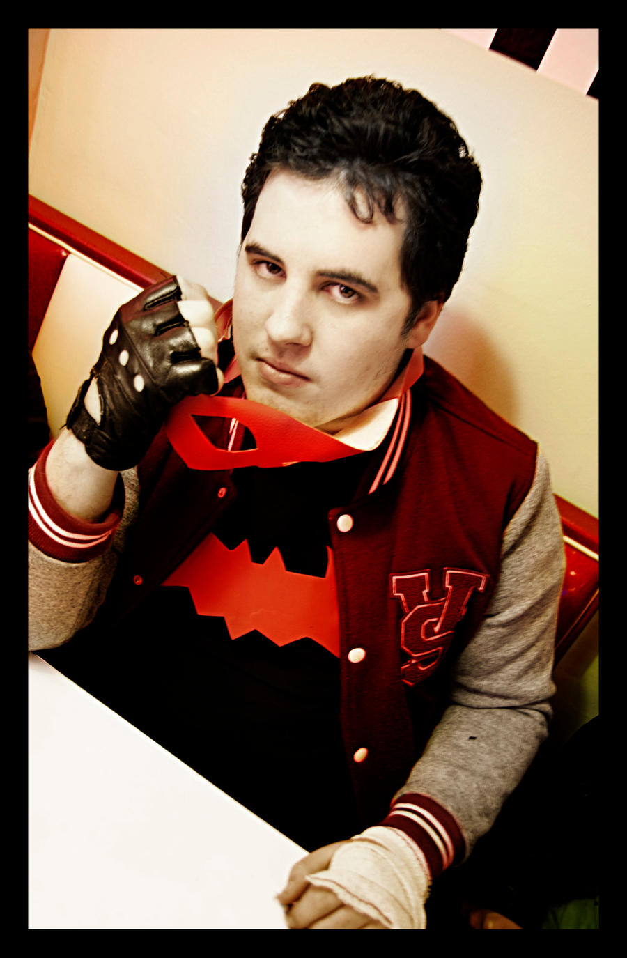 Red Hood Batman Rockabilly universe by JonathanDuran