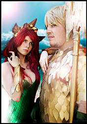 Aquaman and Mera new 52