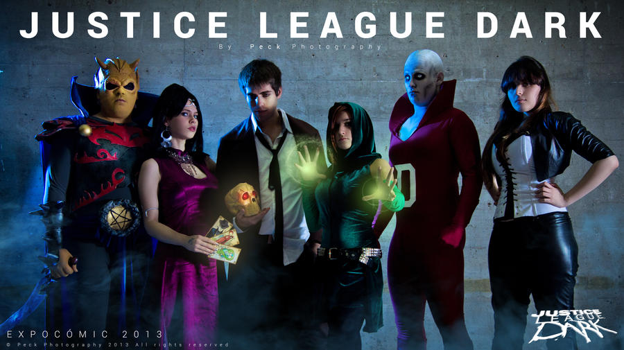 Etrigan and The Justice league Dark by JonathanDuran