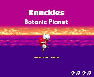 Knuckles Botanic Planet by RetroFoxStudios17