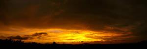 - Sky on fire -