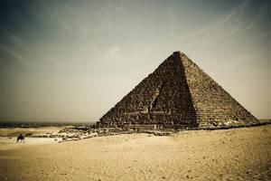 - Pyramid of Menkaure - by ldinami7e