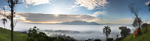 - Mountain above the Clouds -