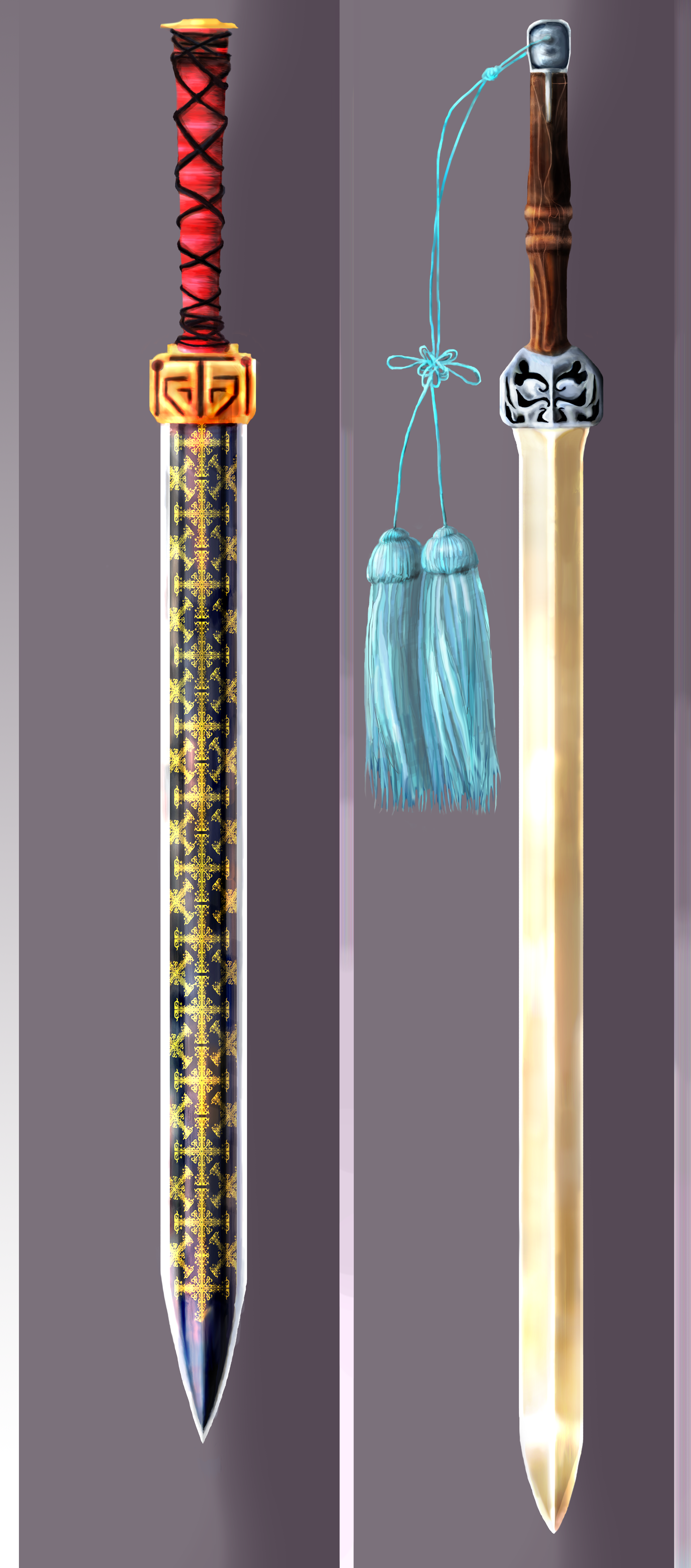 Chinese Sword Design (Han Sword/Tassel Jian) by sam1027 on ...