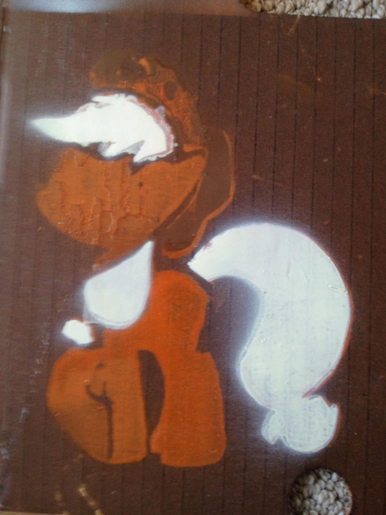 Applejack stencil by SCARFI5H