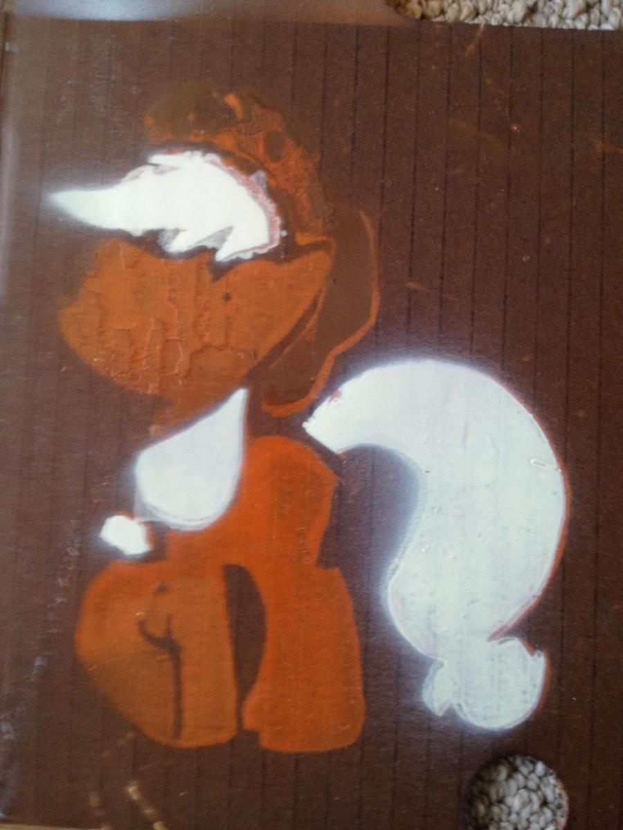 Applejack stencil by SCARFI5H