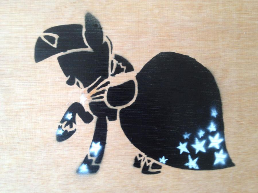 Twilgiht Gala Dress Stencil by SCARFI5H